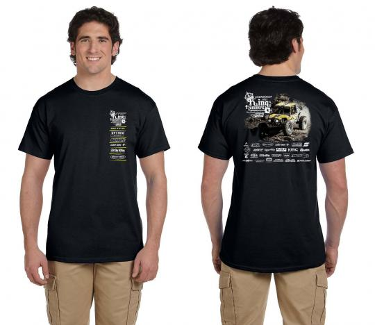 2017 King of the Hammers Men's Event T-shirt Ultra4 Racing KOH